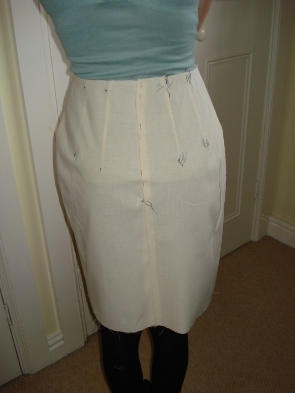 Tailored Skirt Toile