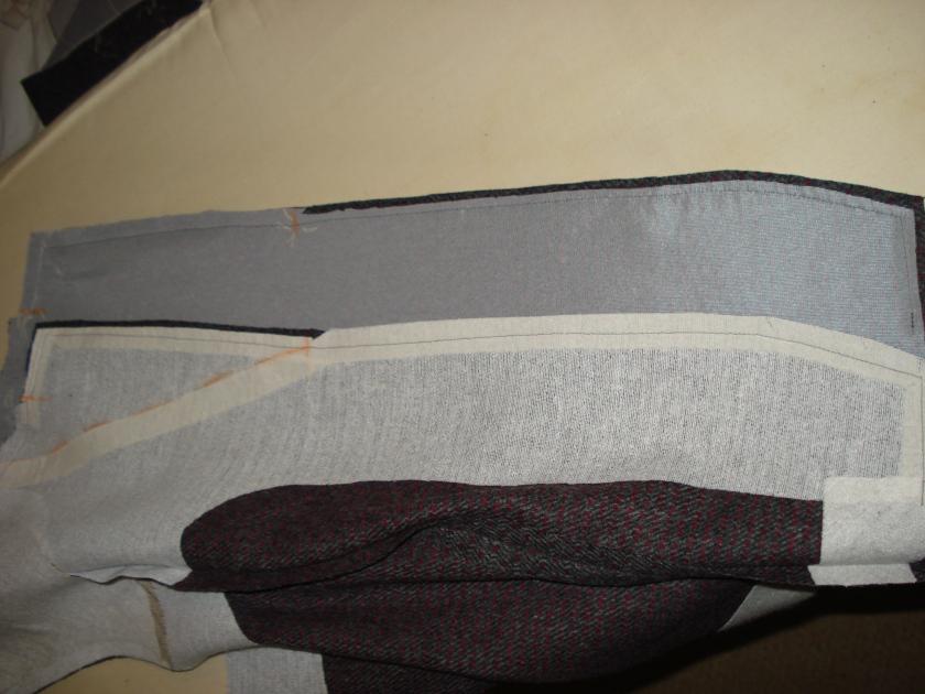 layered seams