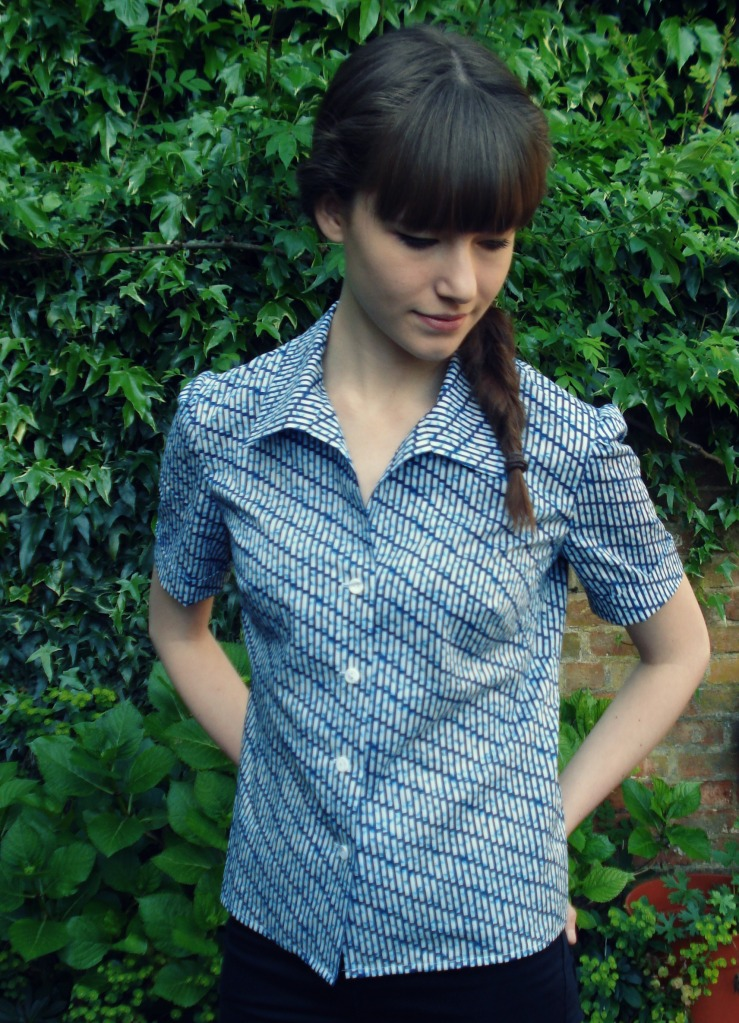 "Vintage Style pattern in Liberty cotton - properly ""me-made"" not Mum-made!"