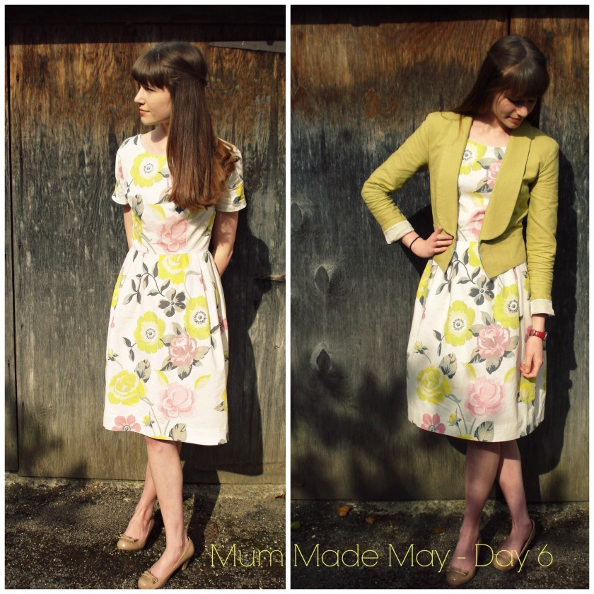 Vintage Simplicity dress & Bellatrix Blazer