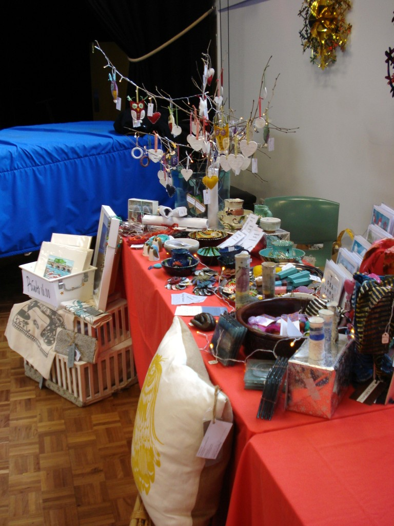 My stand at Sibford School fair