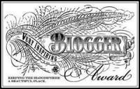 Blog Awards - Thanks and Apologies! (2/2)