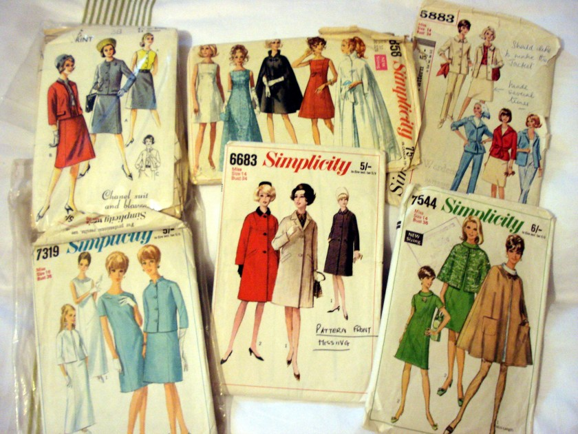 A selection of 60's patterns