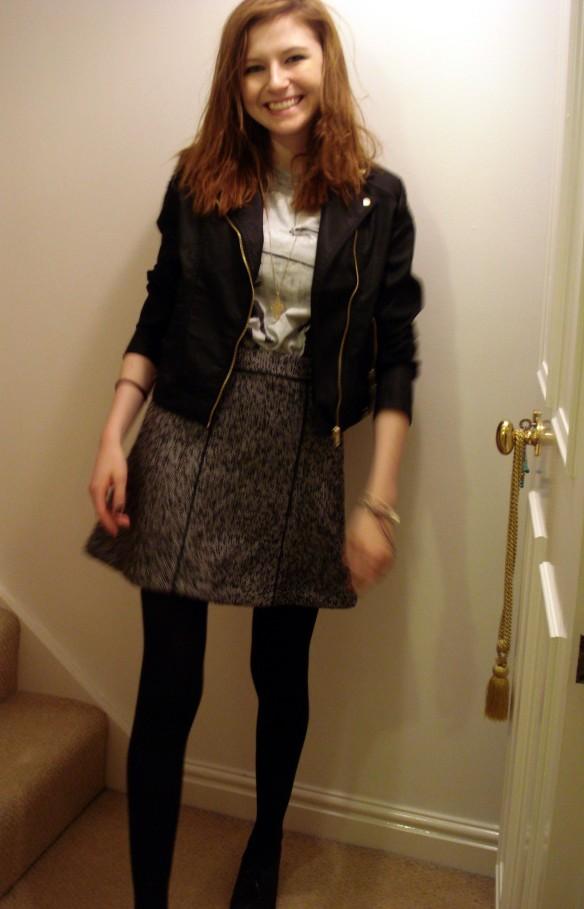 Gored Panel Skirt