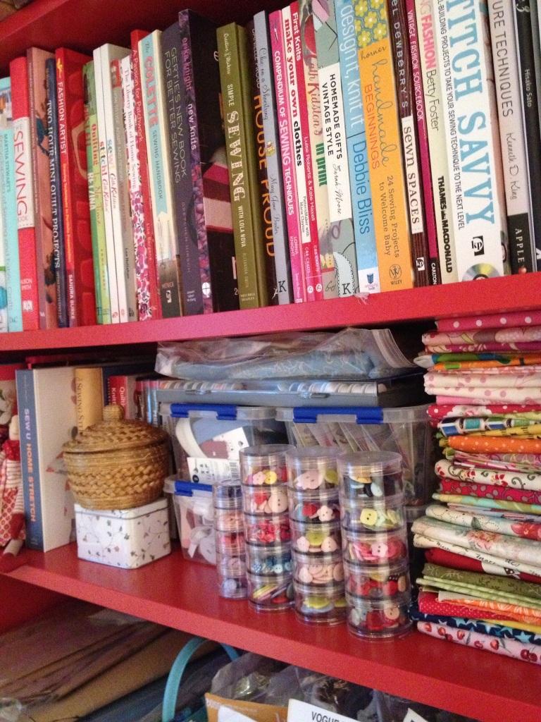 Rachel's bookshelf