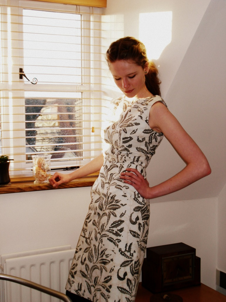 Vogue 9971 in cotton batik