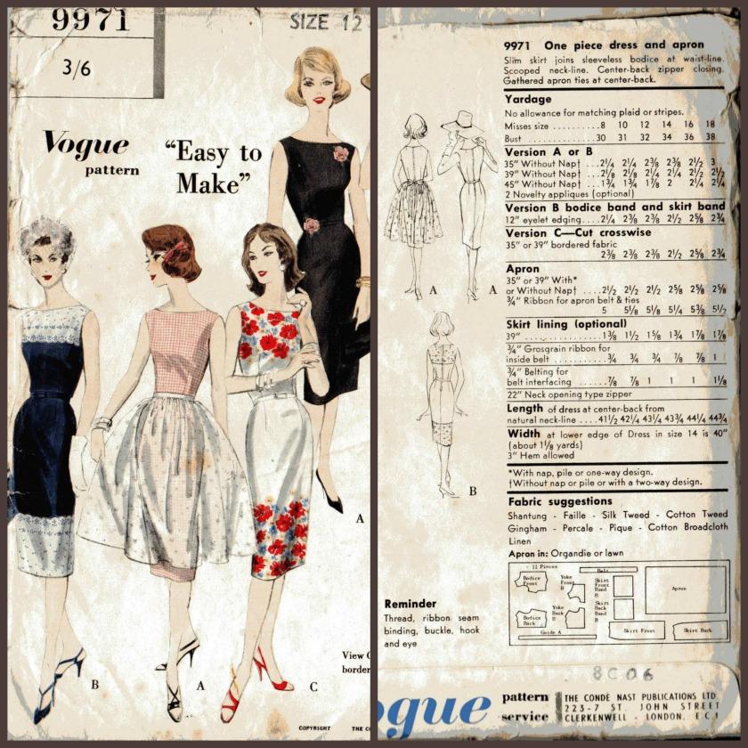 Vintage Vogue 9971