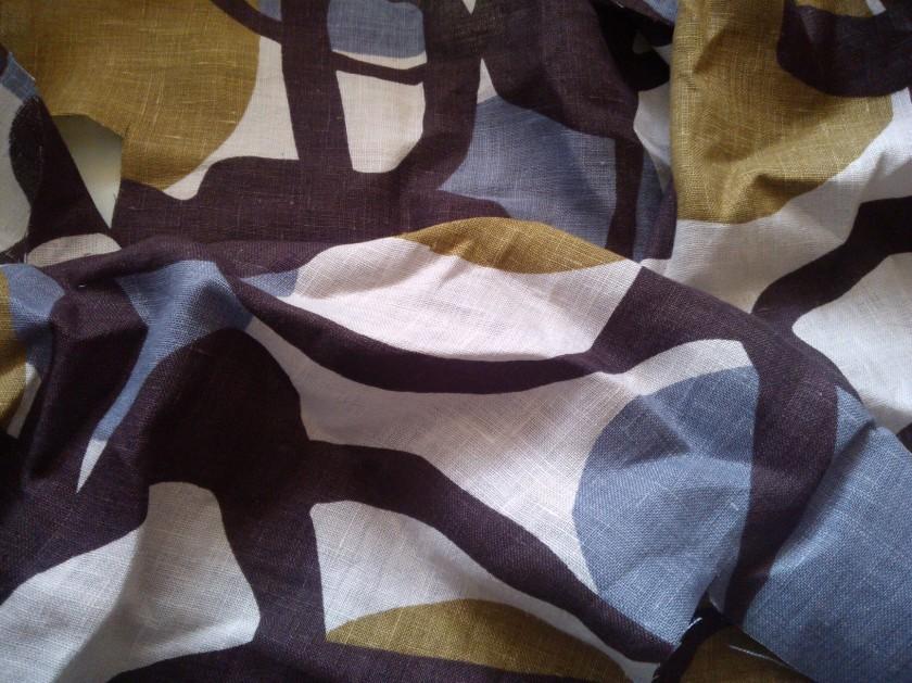 Kohn Kaldor print linen