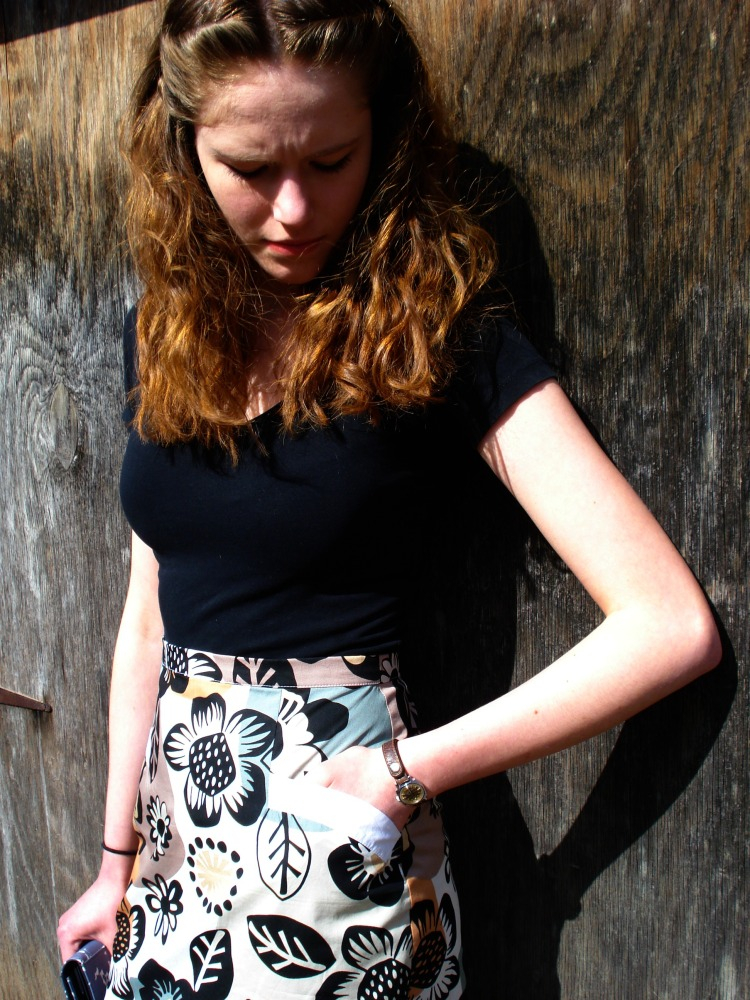 Barbara - a 50's inspired wiggle skirt (3/6)
