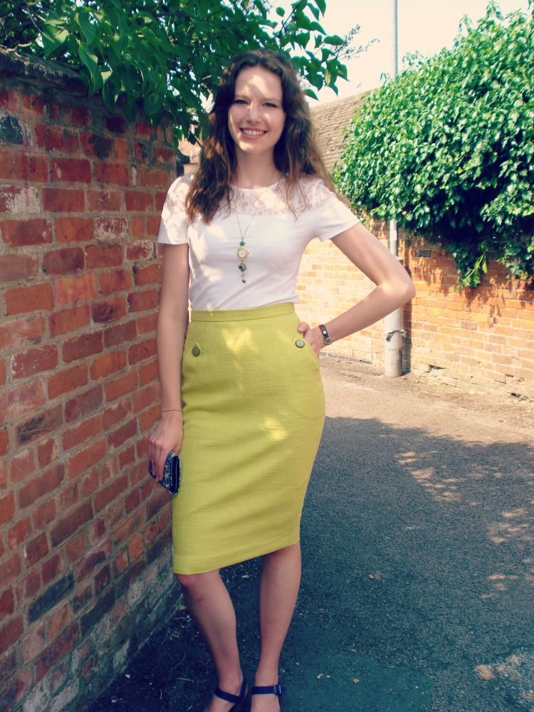 Veronica - a 50's inspired wiggle skirt (5/6)