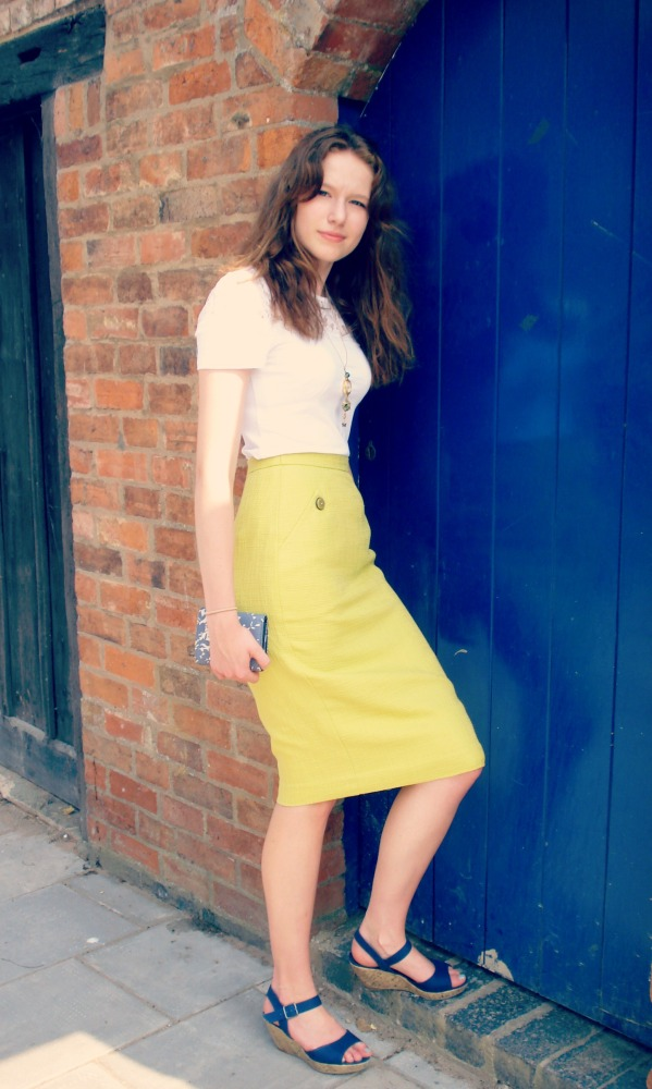 Veronica - a 50's inspired wiggle skirt (6/6)