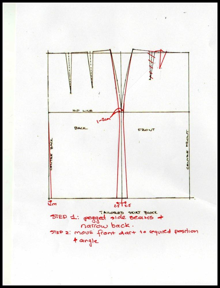 How to Make a Wiggle Skirt - Veronica (3/5)