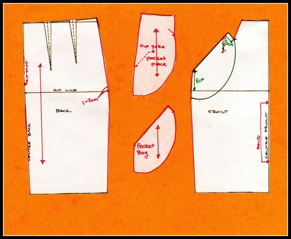 How to Make a Wiggle Skirt - Veronica (5/5)