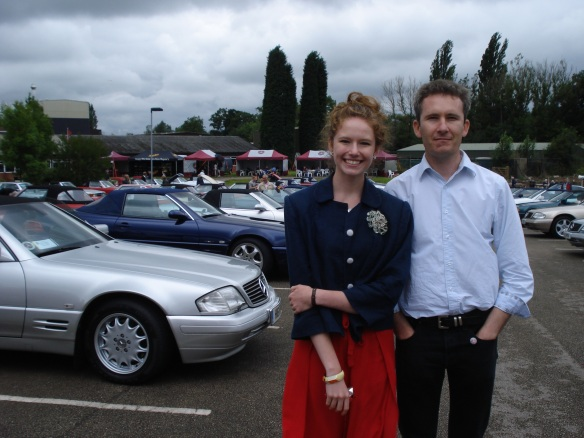 Husband & Daughter No2 with some of the SLs in the background