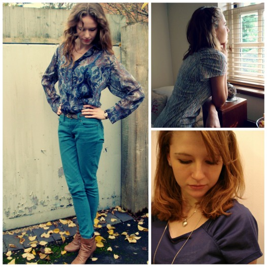 Burda blouse 114 from 10/2013 & t-shirts 126 from 2/2013