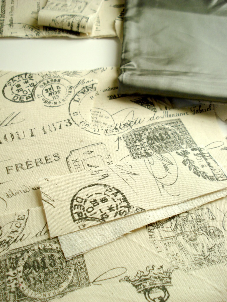 Paris print cotton canvas for Bellatrix take two