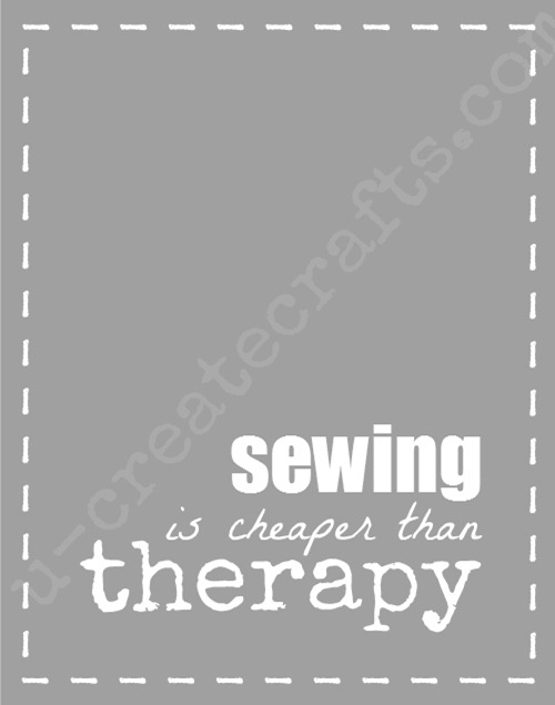 Sewing is Cheaper...