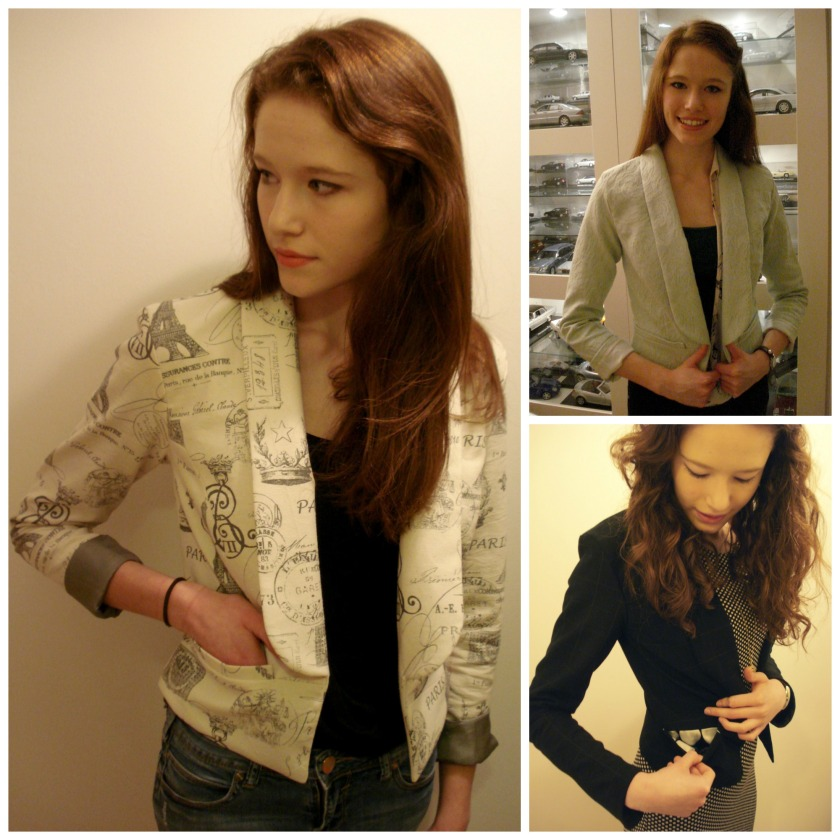 Three blazers