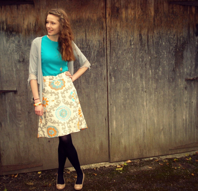 The Honeydew Skirt by Seamster Patterns