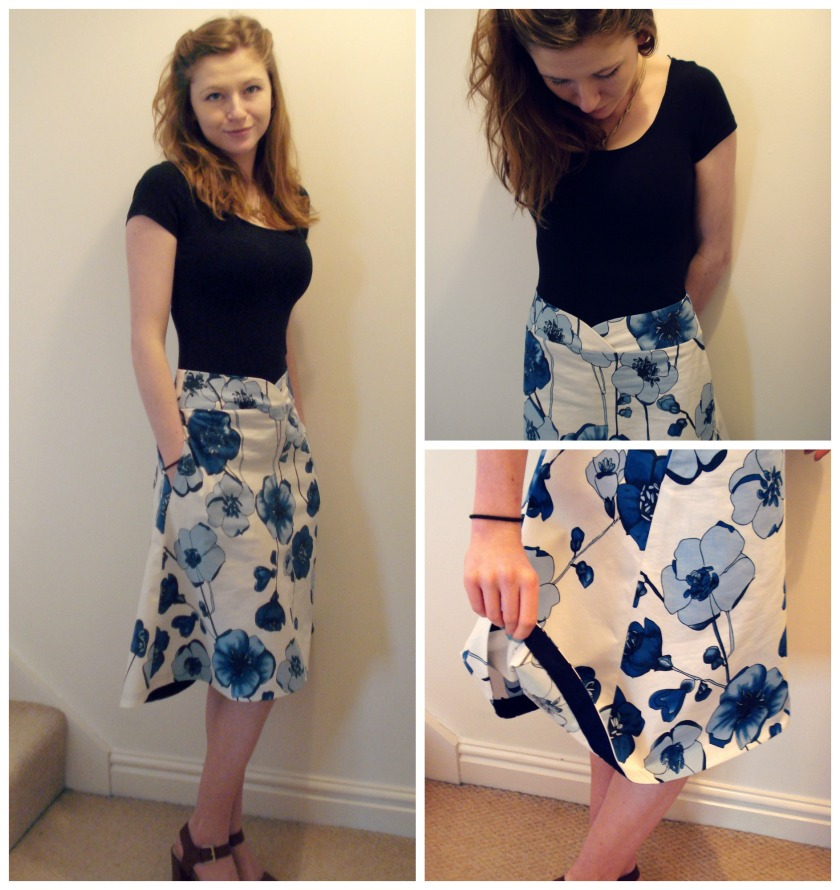 Honeydew Skirt from Seamster Patterns