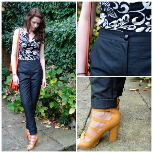 trouser collage