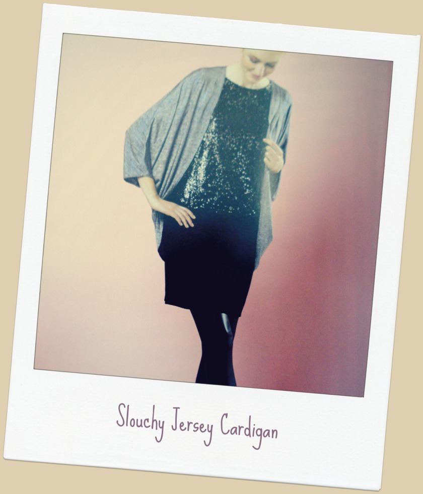 Slouchy Jersey Cardigan from GBSB Fashion with Fabric book.