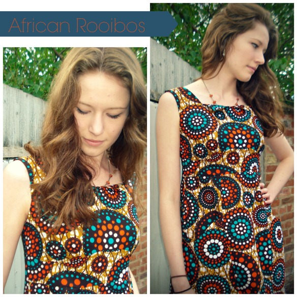 Rooibos dress from Colette Patterns