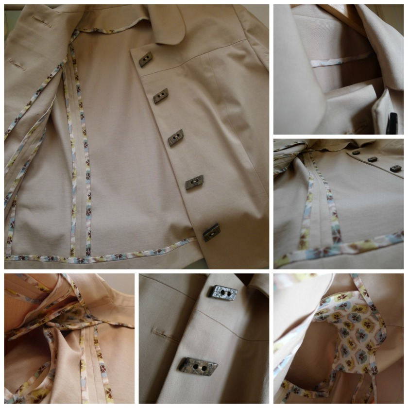Collage jacket details