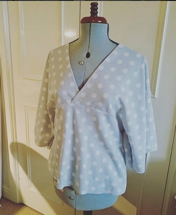 warabi kimono toile