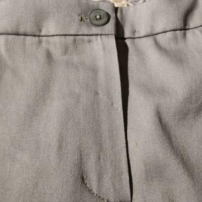 Front fly zip