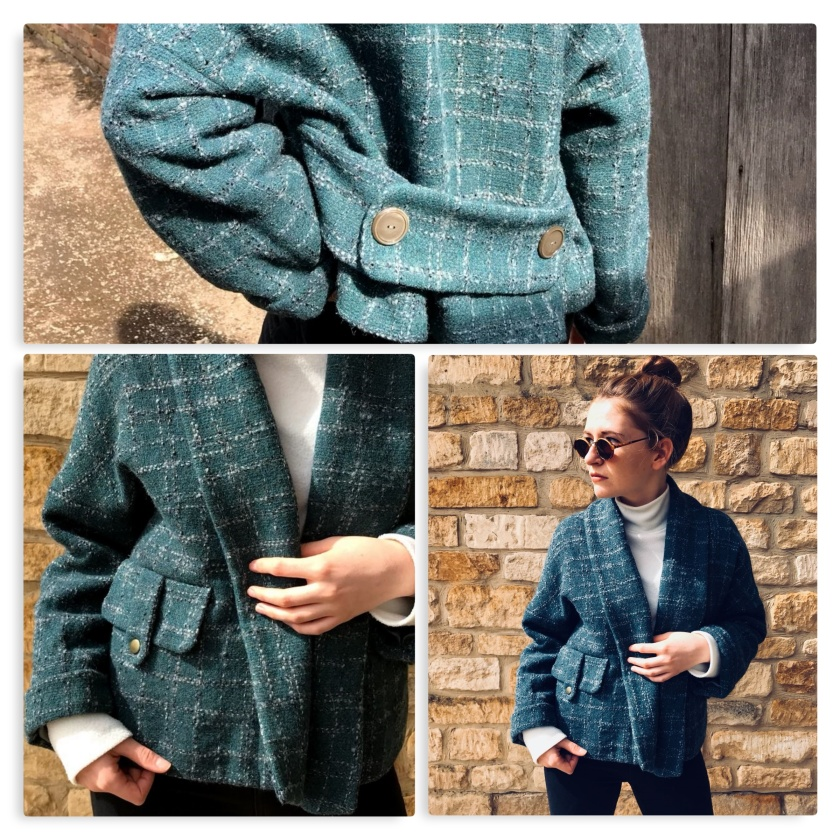 collage green jacket