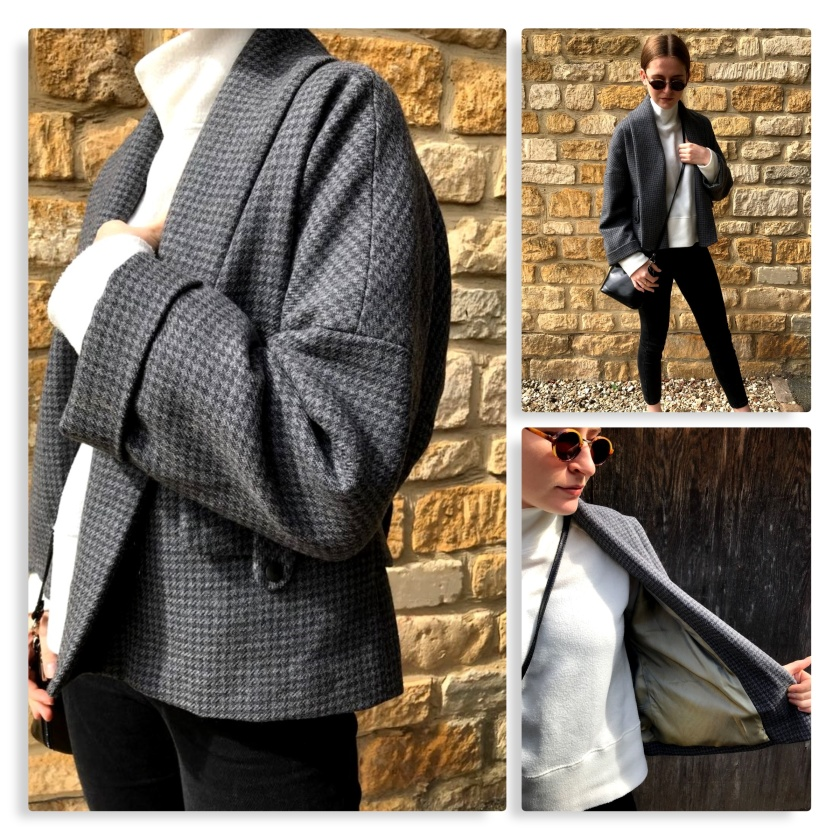 collage houndstooth