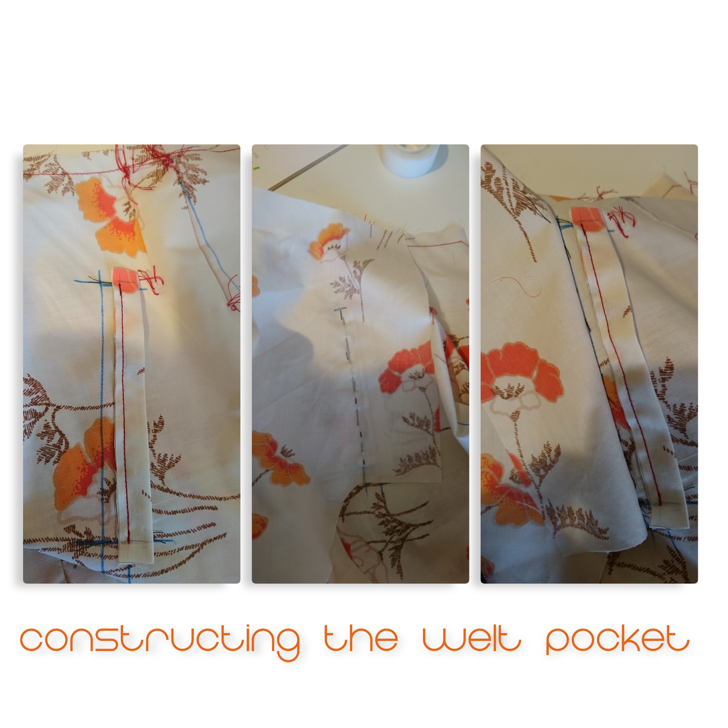 collage welt pocket
