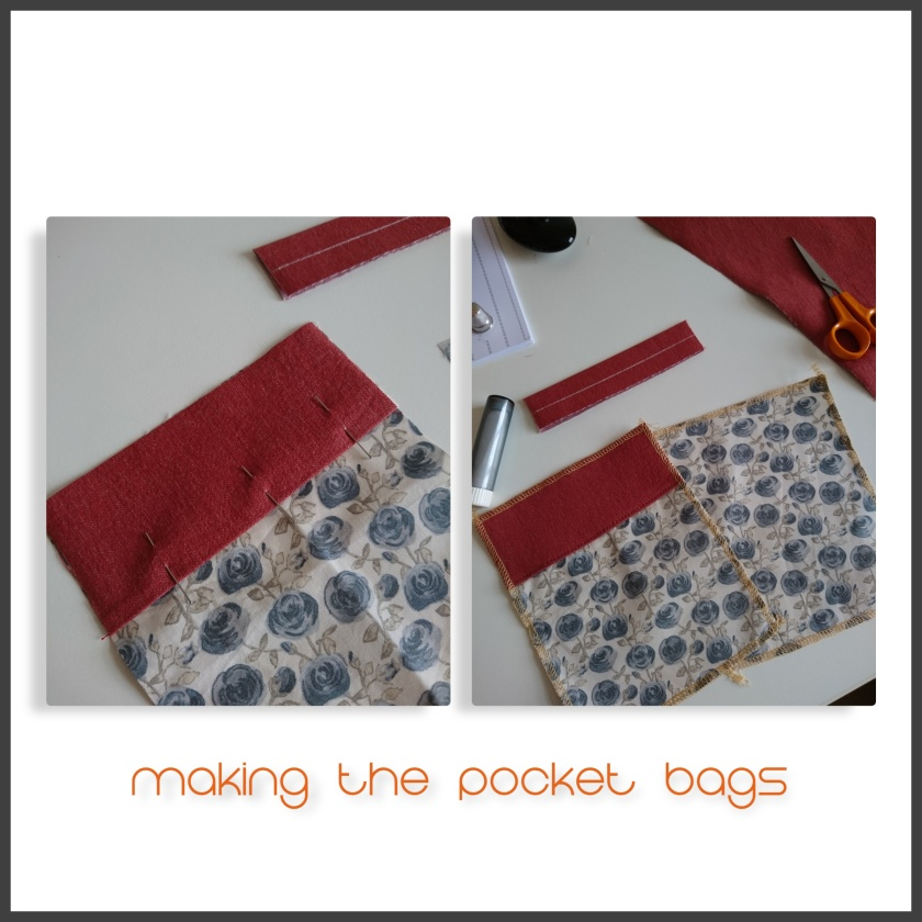 collage pocket bags